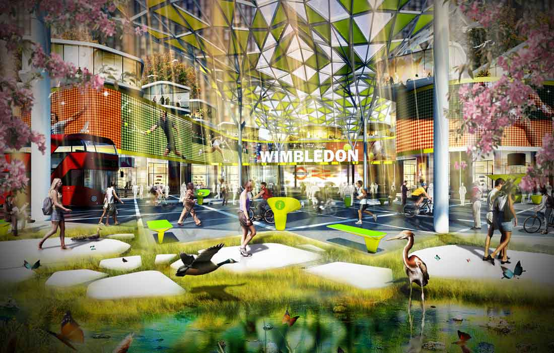 urban forest innovative urban design
