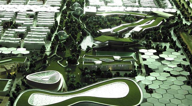 Dubai Sustainable City - Baharash Architecture - copyright