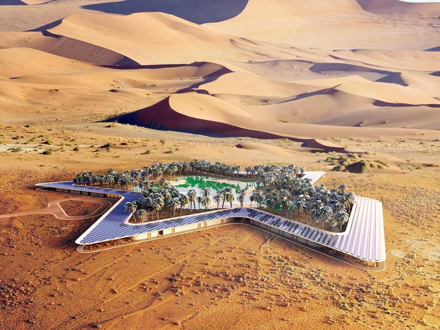 Baharash Architecture_Oasis Eco Resort