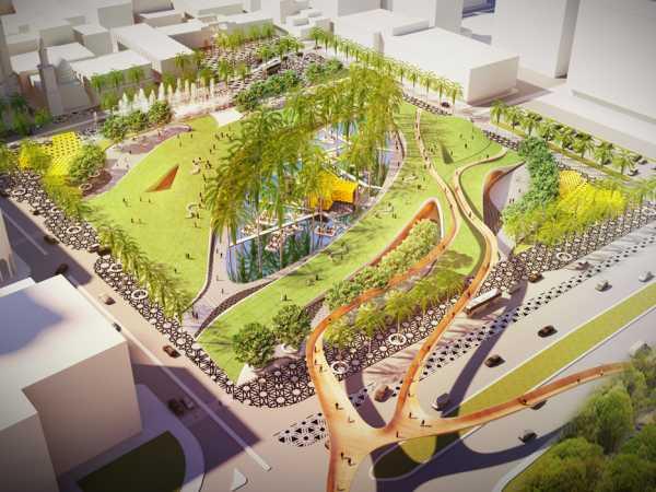 Bahrain Landscape & Urban Design by Baharash Architecture